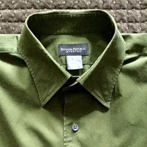 Banana Republic Stretch 👔 Dress Shirt